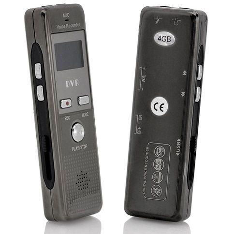 HNSAT Profesionální digitální diktafon s hlasovou aktivací