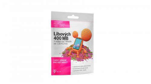 T-Mobile SIM Twist s Námi 400 MB