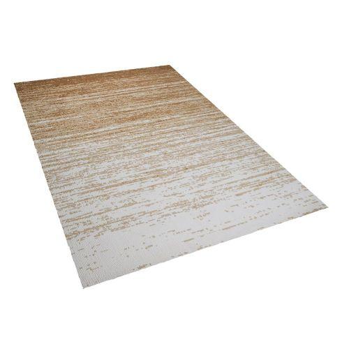 Beliani KATERINI béžový koberec