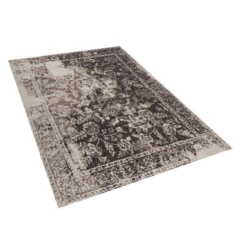 Beliani ARGOS Šedý vintage koberec