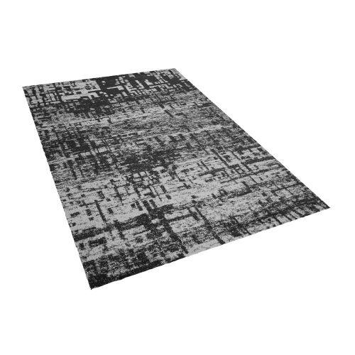 Beliani DAFNI Černobílý koberec