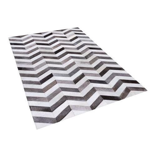 Beliani AKSAZ Šedý koberec