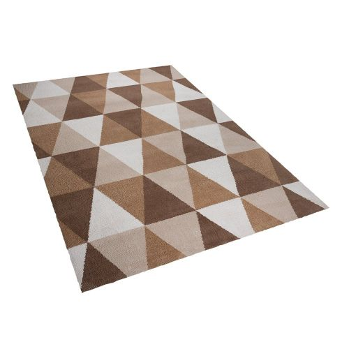 Beliani XANTI Béžový koberec