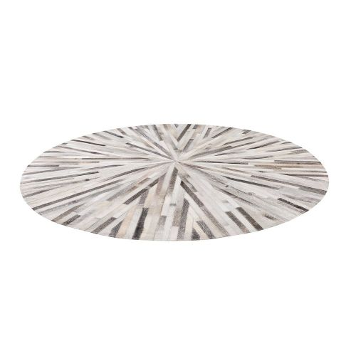 Beliani SIMAV Šedý koberec
