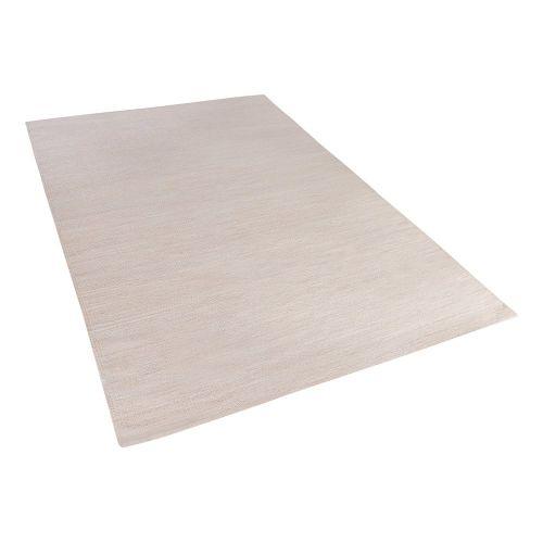 Beliani DERINCE Béžový koberec
