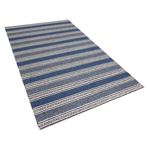 Beliani PATNOS Modrý koberec