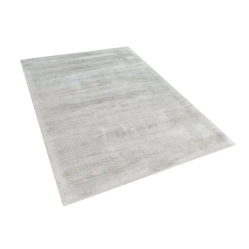 Beliani GESI světle šedý koberec