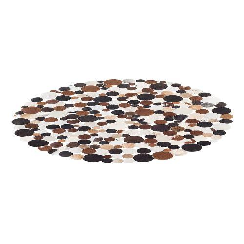 Beliani SORGUN Hnědý koberec