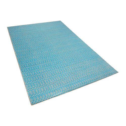 Beliani SILOPI Modrý koberec