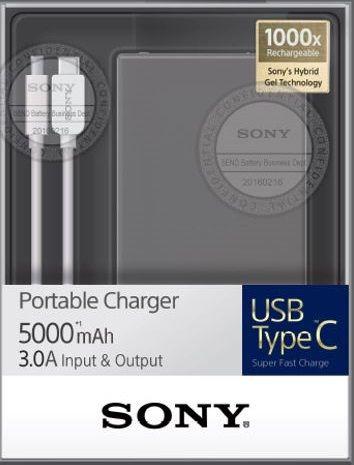 Sony CP-SC5 5000 mAh cena od 1371 Kč
