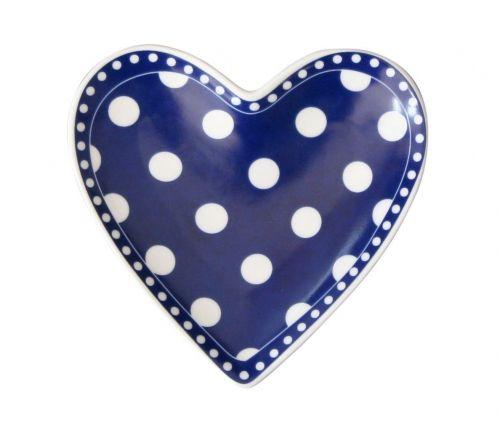 Krasilnikoff Porcelánový tácek Heart Dots cena od 254 Kč