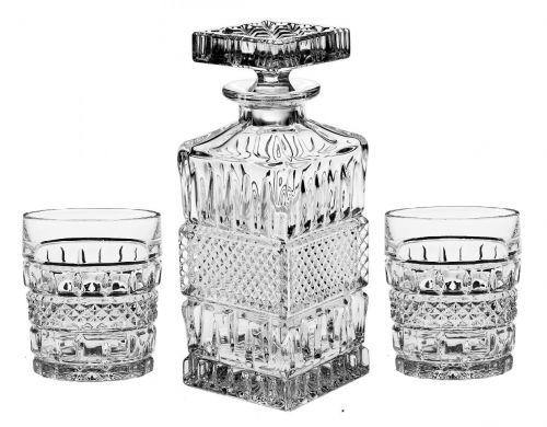 Bohemia Jihlava Crystal Bohemia souprava na whisky Brittany 1+6 cena od 0 Kč