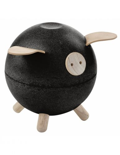 Plan Toys Kasička černé prasátko