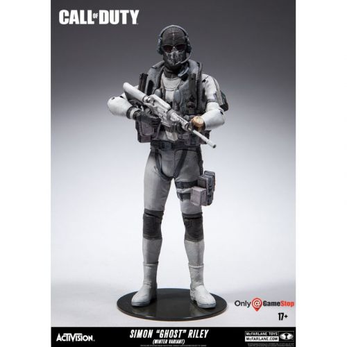 McFarlane Toys Call of Duty Simon 'Ghost' Riley Exclusive 18 cm