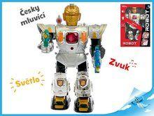 Mikro Trading Robot česky mluvící 36 cm