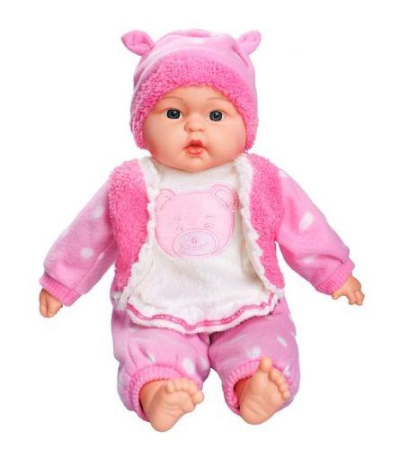 PlayTo Česky mluvící a zpívající dětská panenka Anička 46 cm