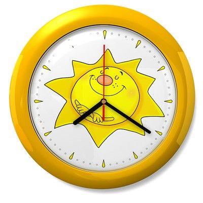 Mint Kitten Dětské hodiny č. 09 Sluníčko