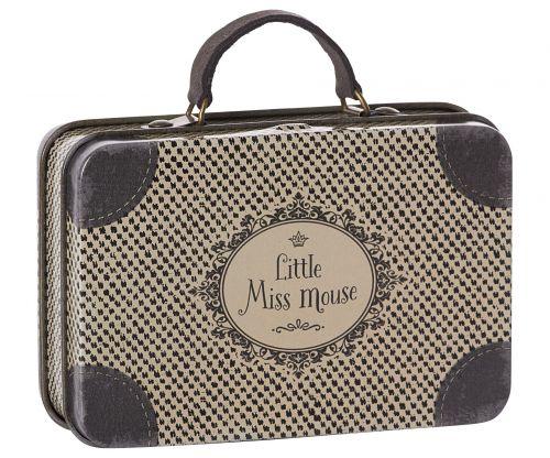 Maileg Plechový kufřík Travel Grey
