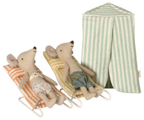 Maileg Myšky na dovolené