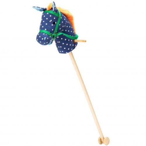 rice Dětský kůň na tyči Blue Star