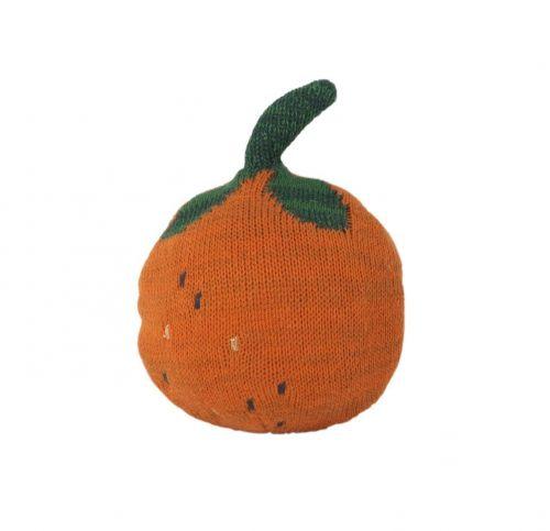 ferm LIVING Hračka s rolničkou Frutikana Orange Roly Poly cena od 0 Kč