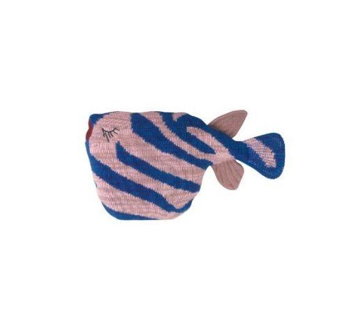 ferm LIVING Pletená ryba Tiger Fish