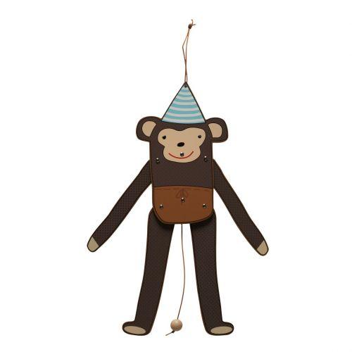OYOY Dětská loutka opičák Mr. Nelsson