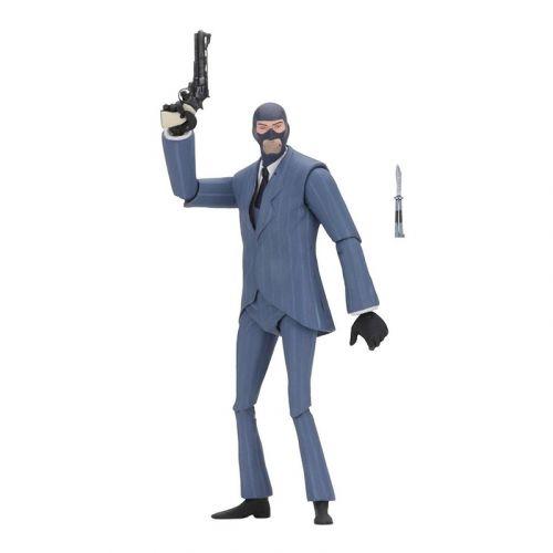 NECA Team Fortress 2 akční figurka The Spy 3.5 BLU 18 cm