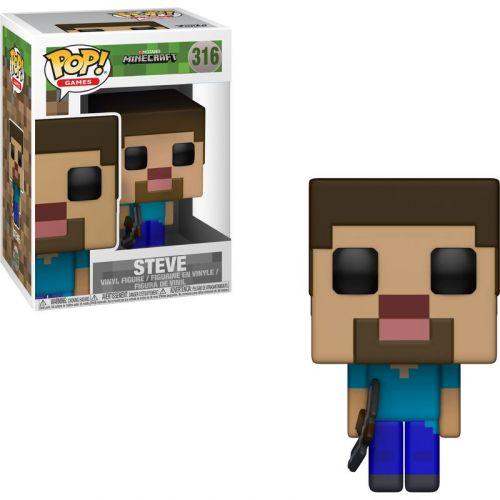 Funko Minecraft Steve Pop!