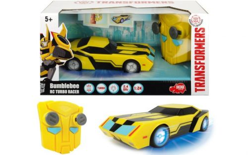 Dickie RC Transformers Turbo Racer Bumblebee 1:24