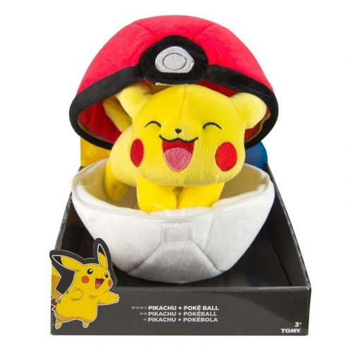 Tomy Pikachu with Pokeball