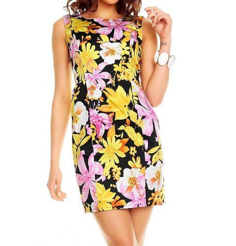 Mayaadi Letní šaty vzorované květované