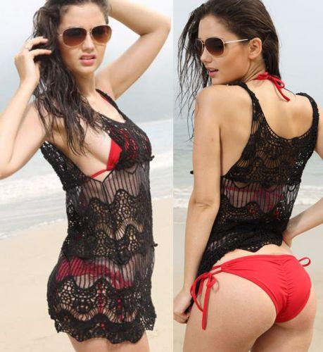 LM moda A Háčkované šaty na pláž