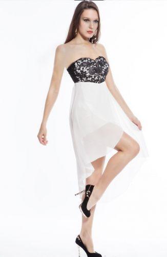 LM moda A Plesové šaty bílé s výšivkou