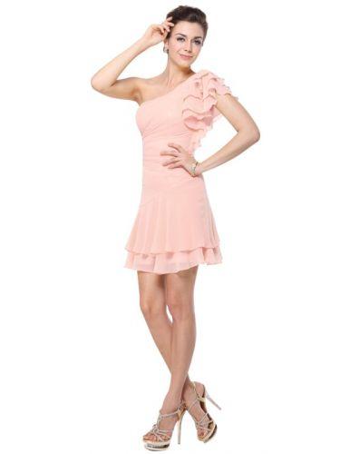 Ever Pretty šaty krátké růžové