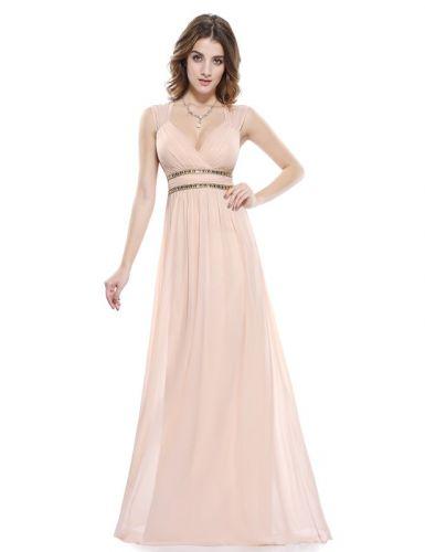 Ever Pretty šaty dlouhé elegantní krémové