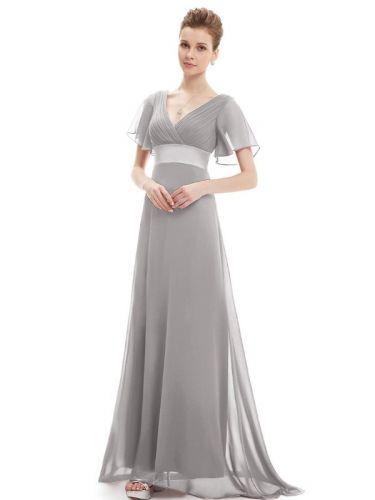 Ever Pretty plesové šaty šedé