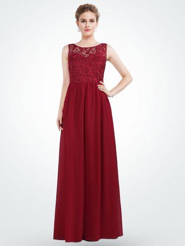 aadbbc25fcf3 Ever Pretty bordo šaty s krajkou. 1 990 Kč