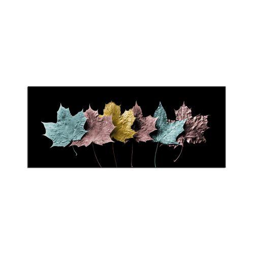 Styler Leaves 3 Skleněný obraz 125x50 cm