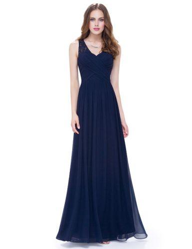 5f4290a2cb2e Ever Pretty Plesové šaty společenské modré