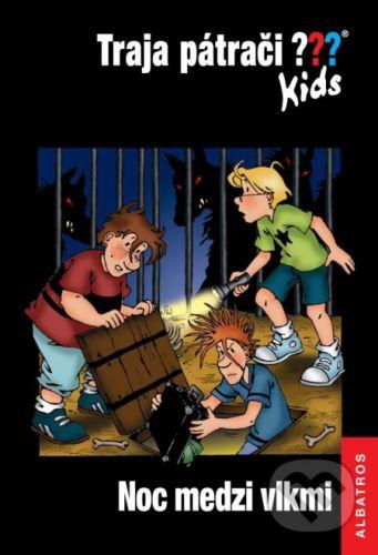 Ulf Blanck: Noc medzi vlkmi - Traja pátrači Kids cena od 193 Kč