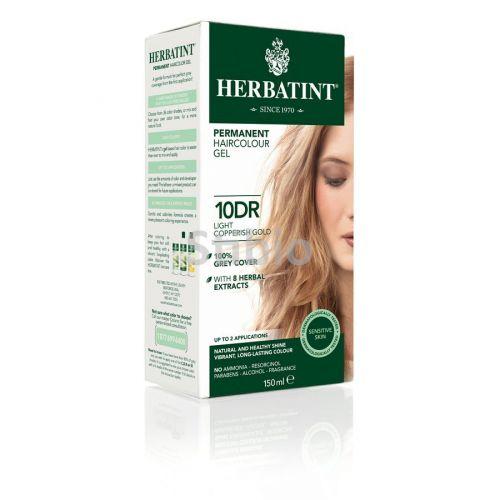 HERBATINT HERBATINT barva na vlasy světlo-měděno zlatá 10DR 150 ml cena od 325 Kč