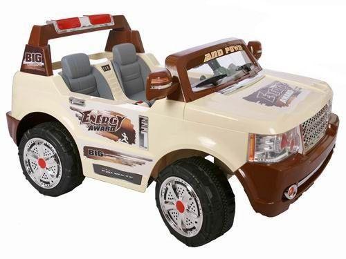 ChuChu Velké terénní auto pro dvě děti s DO cena od 6890 Kč