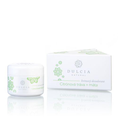 Dulcia natural Krémový deodorant - citrónová tráva - máta 30 g cena od 190 Kč
