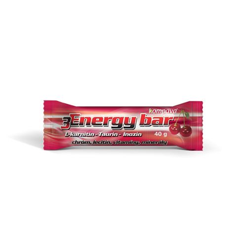 Kompava 3Energy bar 40 g cena od 21 Kč