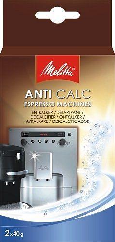 Melitta Anti calc Espresso Odvápňovač 2x40 g cena od 99 Kč