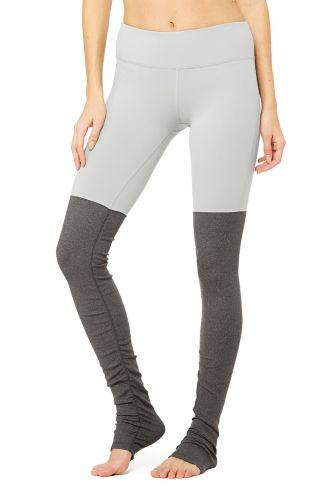 Alo Yoga Alo Goddess Legging Alloy / Stormy Heather kalhoty