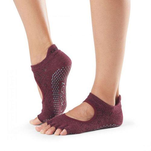 Toesox Halftoe Bellarina Grip Vixen ponožky