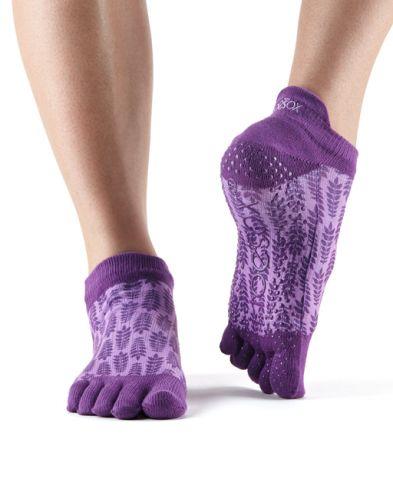 ToeSox Fulltoe Low Rise Grip Ivy ponožky