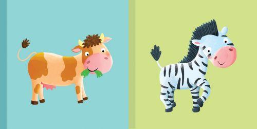 Dětská knížka Kravička Zebra cena od 73 Kč